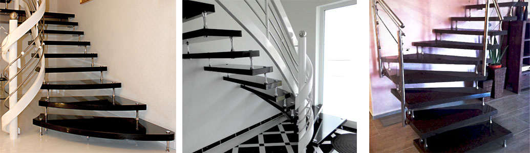 treppen aus granit naturstein kassel. Black Bedroom Furniture Sets. Home Design Ideas